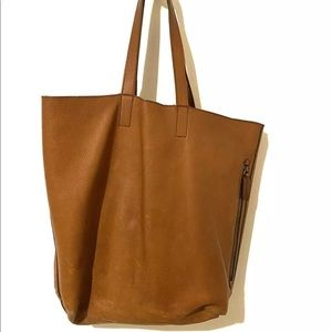 Leather Tote Banana Republic Tote Bag (Camel)